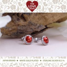 #LoveMarkPH #JOTD: Chandra silver earrings with Red Swarovski's Cubic Zirconia. Check it now on FB: https://www.facebook.com/lovemarkph/photos/a.719408828127095.1073741831.692693000798678/884217034979606/?type=1&theater