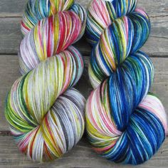 Funny Papers - Yowza | Miss Babs Hand-Dyed Yarns & Fibers, Inc.