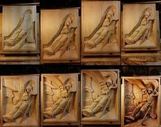 Best Timber Sculpting Methods and Tips - Fine Woodworking Tips For You Wood Carving Patterns, Wood Carving Art, Wood Art, Woodworking Inspiration, Cnc Wood, Wooden Picture, Art Carved, Whittling, Fine Woodworking