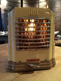 Art Deco Vtg 1930 40 S Arvin Portable Fan Heater Retro