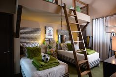 HGTV - modern - kids - atlanta - Insidesign  This would be perfect for all 3 boys!