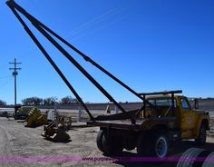 1973 Ford gin pole truck and other Trucks and Trucks, Medium and Heavy Duty from Kansas for sale in our April 2016 Trucks, Medium and Heavy Duty Auction Truck Mounted Crane, Mechanical Advantage, Welding Beds, Crane Lift, Crane Boom, Dodge Power Wagon, Metal Projects, Manual Transmission, Old Trucks