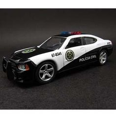 Greenlight Hollywood R2 44620 Dodge Charger Rio Police for 'Fast Five' (1:64)