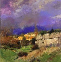 Albert Handell.  pastel