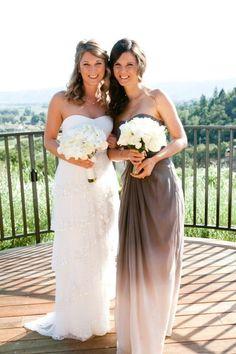 Ombre bridesmaid dress!