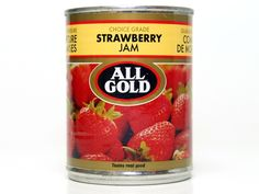 All Gold strawberry jam Brand Icon, South African Recipes, Yummy Food, Tasty, Strawberry Jam, Afrikaans, Cape Town, Preserves, Childhood Memories
