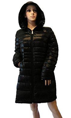 Andrew Marc Women s Packable Lightweight Premium Down Jacket Black 7ca81984ca98