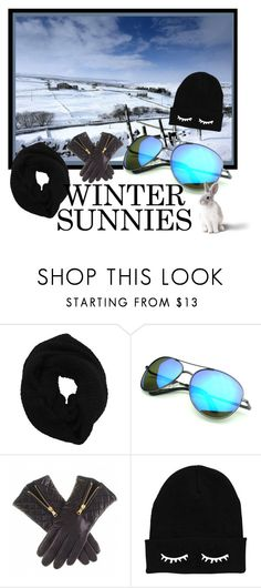 """Beware of the Glare!"" by krusie ❤ liked on Polyvore featuring Wyatt and Revo"
