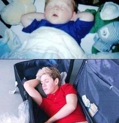Niall Horan sleeping may be the most adorable thing