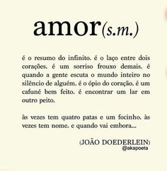 ah, o amorrrr. The Words, More Than Words, Love Quotes, Inspirational Quotes, Romantic Quotes, Beautiful Words, Inspire Me, Sentences, Meant To Be