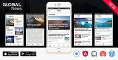 Full Android, iOS Mobile Application for Wordpress Website - Global News - https://codeholder.net/item/mobile/full-android-ios-mobile-application-wordpress-website-global-news