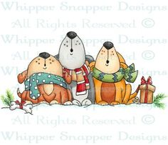 Whipper Snapper Designs is an expansive online store selling a large variety of unique rubber stamp designs. Christmas Drawing, Christmas Paintings, Christmas Rock, Christmas Clipart, Digi Stamps, Watercolor Cards, Copics, Painting Patterns, Cute Illustration