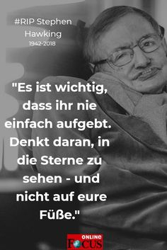 #stephenhawking #stephen #hawking #zitat #RIP #quote #motivation #hope #physicians #physiker #news