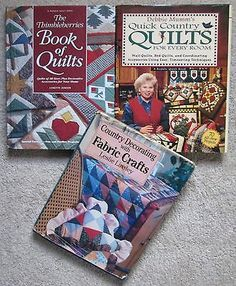 Lot 3 Thimbleberries Book Of Quilts Debbie Mumm's Country Fabric Crafts Patterns