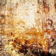 Art vintage floral pattern background