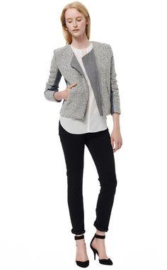 Snowflake Tweed Jacket