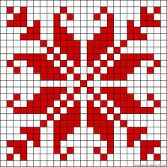 Gallery.ru / Фото #88 - bbb - ergoxeiro.  Cross-stitch pattern.  Can be adapted for loom beading.
