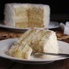 Pina Colada Cake by eatineatout #Cake #Pina_Colada