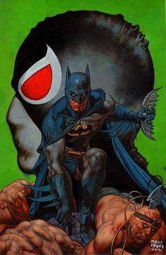AWESOME WARNING: Batman vs. Bane - Glenn Fabry #PunisherApproved