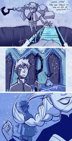 Part 3                                                                     Queen Elsa and Jack Frost