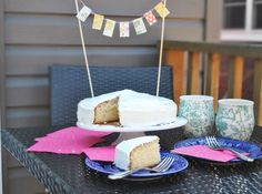 Add everyone's favourite flags to your desserts by following this easier-than-you'd-expect DIY cake bunting tutorial!