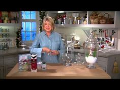 How to Make Holiday Tabletop Decorations with Martha Stewart - The Home Depot… Bird Christmas Ornaments, Cool Christmas Trees, Christmas Cards To Make, Christmas Decorations To Make, Christmas Lights, Holiday Crafts, Christmas Crafts, Christmas Décor, Martha Stewart Christmas