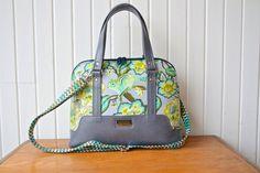 The Boronia Bowler Bag PDF Sewing pattern