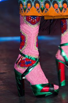 Manish Arora at Paris Fashion Week Spring 2016 - Details