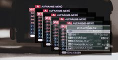 My personal FUJI X camera settings for the X-T10, X-T1 and X-Pro2 (only in German) ....