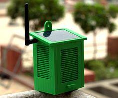 Solar Powered WiFi Weather Station