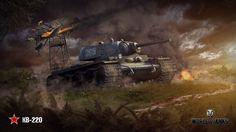 Download World of Tanks KV 220 Tank Game Wallpaper 1920x1080