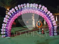HAPPY NEW YEARS BALLOON ARCHES | Gemar Link balloon arch by Bubbly Balloons & Toys P Ltd. India ... Balloon Gate, Balloon Toys, Balloon Garland, Balloon Centerpieces, Balloon Decorations, Birthday Party Decorations, Balloon Ideas, Balloons, Baloon Art