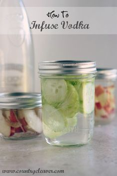 How To Tuesday : How to Infuse Vodka