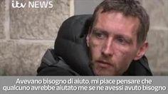 Il senzatetto che ha aiutato a togliere i frammenti dai bambini