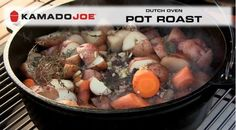 Here's another recipe for your Weekend! Try this yummy Kamado Joe Dutch Oven Pot Roast. #KamadoJoe #PotRoast #ArcticSpasUtah #DutchOven #NewRecipe #Recipes #grillrecipe #grillin #yummy https://www.youtube.com/watch?v=aCR6AwncQSI&feature=em-subs_digest