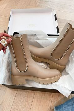 Hello Fashion shares her fall fashion splurges Neutral Boots, Red Leather Pants, Jacquemus Bag, Transparent Heels, Lace Up Combat Boots, Tan Booties, Fall Trends, Black Boots, Rubber Rain Boots