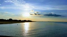 Sunset at Ocean View Pier #NorfiolkVA