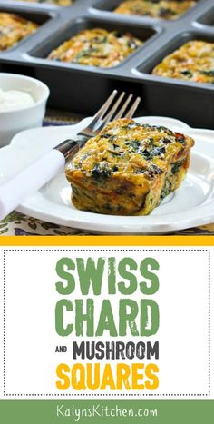 Banana shake during weight loss - Best Lactose Free Diet Low Carb Breakfast, Breakfast Recipes, Casserole Dishes, Casserole Recipes, My Favorite Food, Favorite Recipes, Swiss Chard Recipes, Mini Loaf Pan, Veggie Dishes