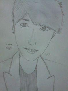 Lee Jong Suk sketch
