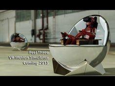 Feel Three | The amazing new #VirtualReality motion simulator for cockpit fans