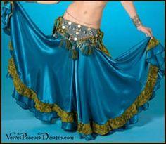 gypsy skirts - Velvet Peacock Designs: Tribal BellyDance costumes, Gypsy BellyDance Costumes, Ghawazee Coats