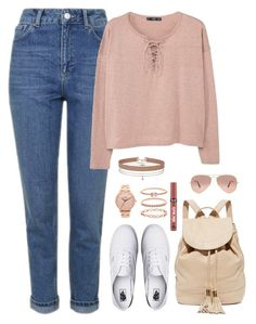 """""""Sin título #891"""" by karlamichell on Polyvore featuring moda, Topshop, MANGO, Vans, See by Chloé, Miss Selfridge, Nixon, Accessorize, Victoria's Secret y Ray-Ban"""