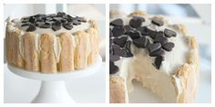 Iskake med kaffe Coffee Ice Cream, Cream Cake, Gelato, Passion, Cakes, Baking, Inspired, Desserts, Custard Cake