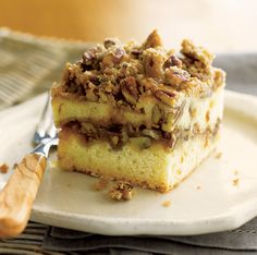 Sour Cream Pecan Coffee Cake #recipe #FoodNetwork #Kohls
