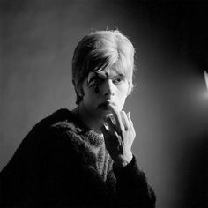 """The photos were taken in 1967 by photographer Gerald Fearnley who decided to show them to the world now, though one of the photos was used on the cover of Bowie's debut album. """"He was very polite,"""" says Gerald Fearnley, who took these photographs of 20-year-old David Bowie in 1967. """"I don't remember how he ended up in my studio, but I was probably the only person he knew with a camera and a studio."""