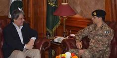 Karachi Corps Commander calls on Governor Sindh