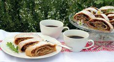 Výborná neťahaná jablková štrúdľa - Recepty Kulinárium Mexican, Tableware, Ethnic Recipes, Food, Cakes, Hampers, Dinnerware, Cake Makers, Tablewares