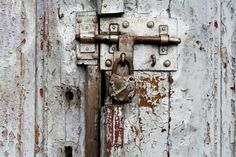 Where do you pin this? Rusty Locks? Peeling Paint? Rough and Rustic?