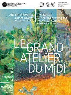 A partir du 13 juin une autre exposition prendra place au musée Granet. 200 chefs-d'oeuvre de l'histoire de l'art de 1880 à 1960.