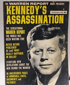What to write for sentence of purpose for a report on jfk's assassination?